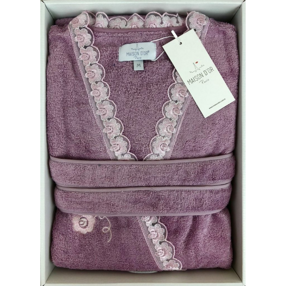 Celyn фиолетовый женский халат Maison D'or