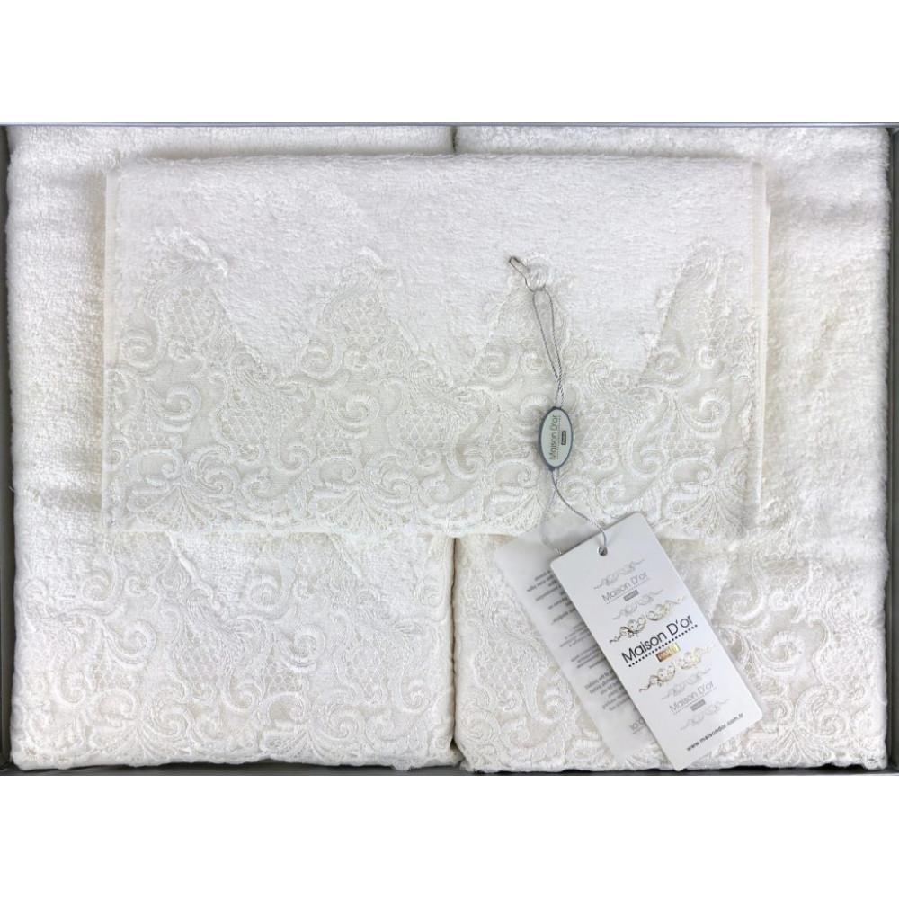Jasmin ванильный полотенца для ванной Maison D'or