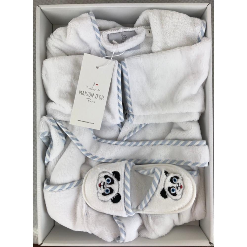 Luna Enfants Maison D'or халат для мальчика 2 года