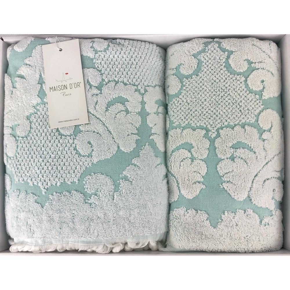 Celestina зеленый полотенца для ванной Maison D'or
