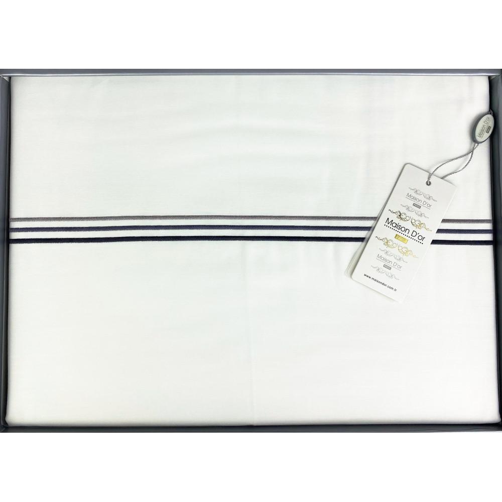Chemin Embrodery белый постельное белье Maison D'or