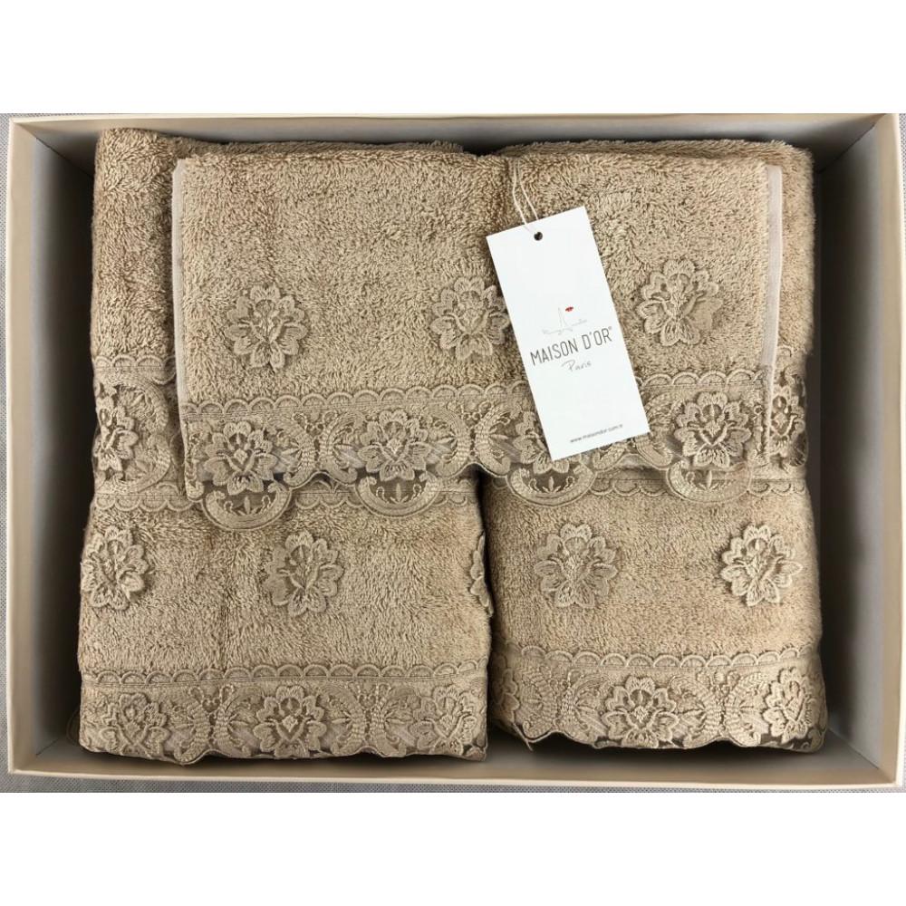 Intensive капучино полотенца для ванной Maison D'or